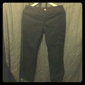 Ralph Lauren Sport Black Cropped Slacks